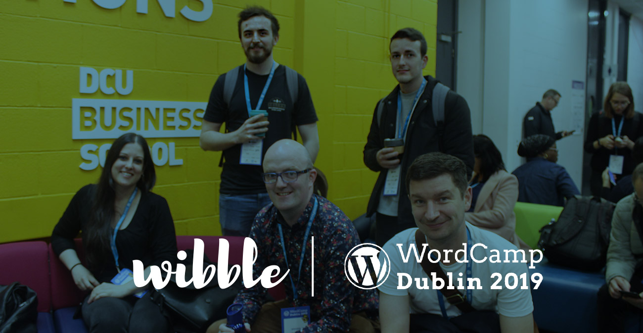 Wibblers go to Wordcamp Feature