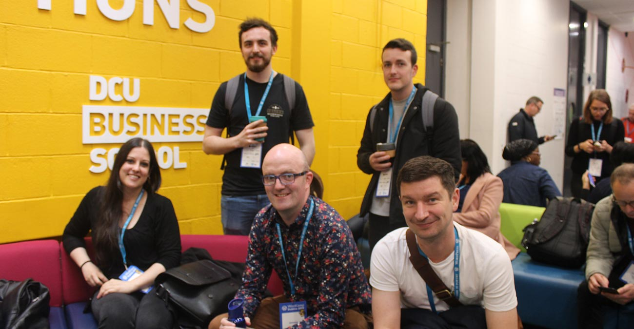 Wibblers go to Wordcamp Dublin 2019