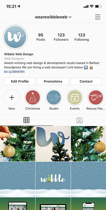 We Are Wibble. Refresh: Part 3 – Expanding the Brand