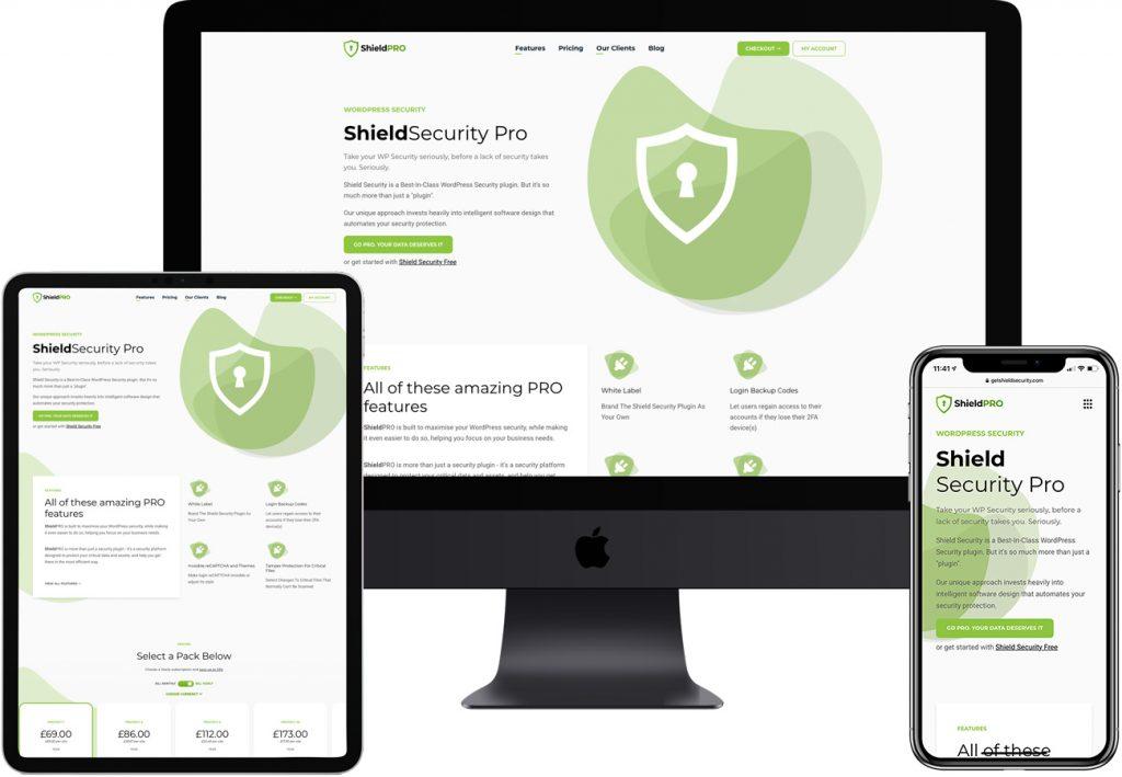 Shield Security Pro by Wibble Web Design & Development