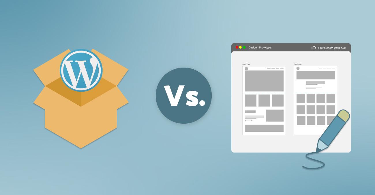 Explained: Custom Built Themes v Pre-Built Themes   Wibble Web Design & Development   Blog